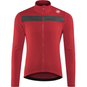 Castelli Puro 3 Full Zip Jersey Men red